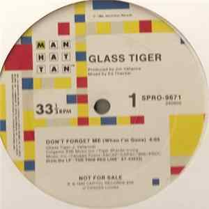 Album Glass Tiger - Don't Forget Me (When I'm Gone)