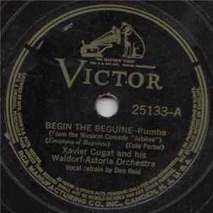 Album Xavier Cugat And His Waldorf-Astoria Orchestra - Begin The Beguine / Waltz Down The Isle