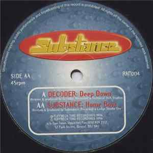 Album Decoder / Substance - Deep Down / Home Boyz