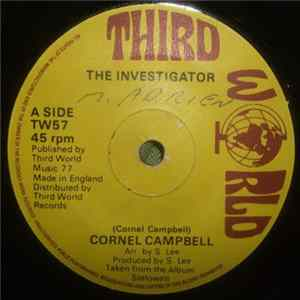 Album Cornell Campbell - The Investigator