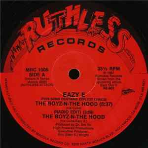 Album Eazy E - The Boyz-N-The Hood
